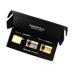 Dangerfield Fine Metal Practice Locks for Lockpickers in our display box