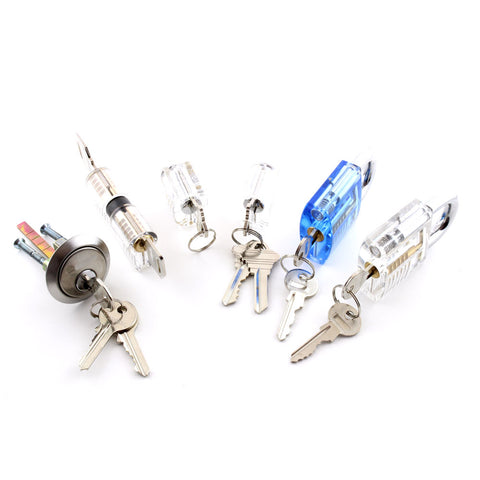 Dangerfield Six Perfect Practice Locks til Lockpickers - UKBumpKeys