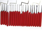 Juego de púas HUK Red Tiger 24pc DIMPLE PLUS - UKBumpKeys