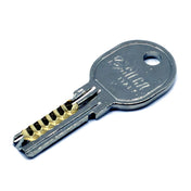 ISEO (rango R6) Dimple Key Bump Key - Para Pickple Lock Picking - UKBumpKeys