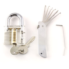 Jack Knife Pocket Companion Lock Pick with Practice Lock