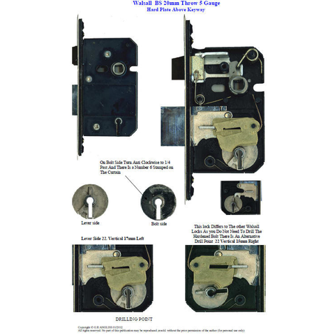 Mortice Lock Identification Manuals 3rd Edition - UKBumpKeys