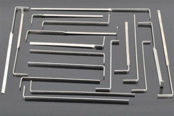 Ultimate Tension Wrench Set 18pc - UKBumpKeys