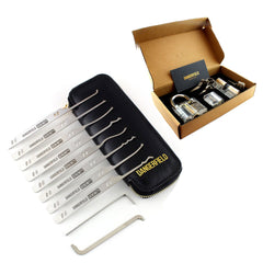 Dangerfield 10 piece Serenity Complete Lock Pick Set + Case