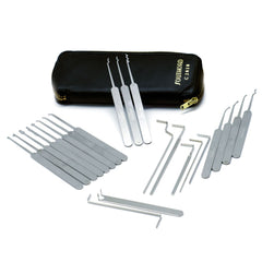SouthOrd Finest 22 Piece Slimline Lock Pick Set C2010 - UKBumpKeys