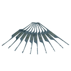 10 Piece Ærlig Wave Lock Rake Set til Lock Pickers - UKBumpKeys