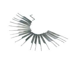 Wave Rakes XS - 20 Piece Lock Picking Rake Set - Main