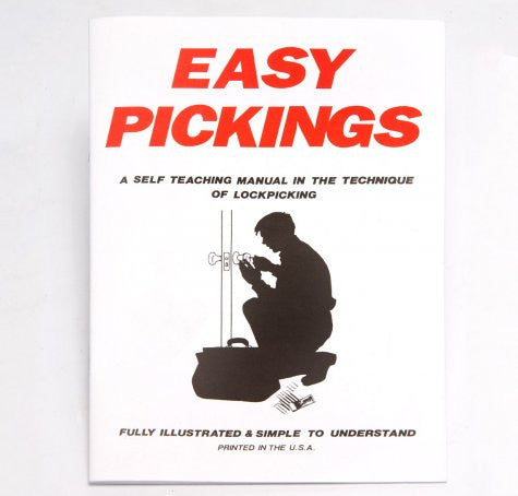 Lock Picking for Beginners Book - Simple and Illustrated - UKBumpKeys
