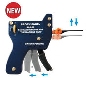Brockhage Semi-Automatic Lock Pick Gun + 15 Needles