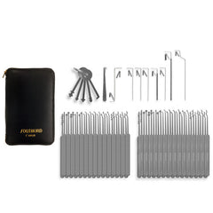 Southord 64 piece Slim-Line Lock Pick Set + Case - UKBumpKeys