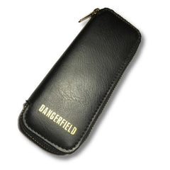 DANGERFIELD Premium Leather Zip-Around Lock-Pick Case