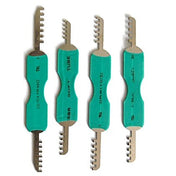 8 Piece Comb Padlock Picks - UKBumpKeys