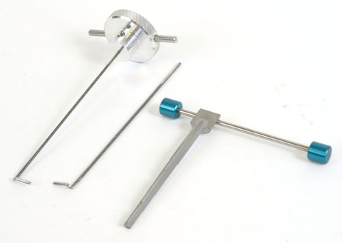 Professional Multi Gauge Curtain Mortice Pick: All Gauges - UKBumpKeys