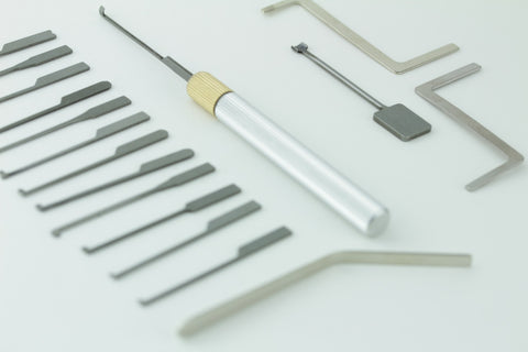 Complete Dimple Lock Pick Set - For picking Dimple Locks for