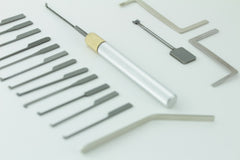 Complete Dimple Lock Pick Set - For picking Dimple Locks