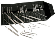 Multipick ELITE Super-Pick Set 27 Teile + 10 Bogota Picks - UKBumpKeys
