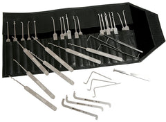 Multipick ELITE Super-Pick Set 27 Pieces + 10 Bogota Picks - UKBumpKeys