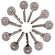 11 Piece Skeleton Keys - Fairbanks Set - UKBumpKeys