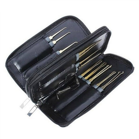 GOSO 24 stukenset pick set met stevige All Weather Zip Case - UKBumpKeys
