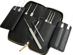 Multipick Elite Bogota 13 Piece Lock Pick Set - UKBumpKeys