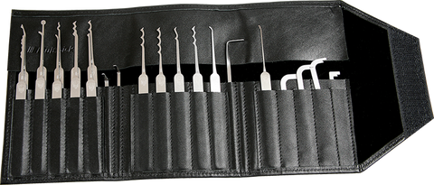 Multipick ELITE 23 Slim Lock Pick Set - 0.4mm - UKBumpKeys