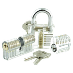 A selection of all of our practice locks for lock picking