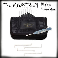 Gorriones Monstrum Lock Pick Set - UKBumpKeys