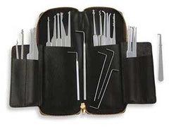 SouthOrd 32 Piece professional Lock Pick Set + Case - UKBumpKeys