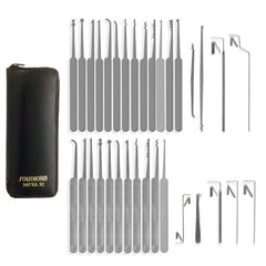 SouthOrd 32 Piece Professional Lock Pick Set + Estuche - UKBumpKeys
