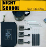Sparrows Night-School Learn Lock Picking Set + Case - UKBumpKeys