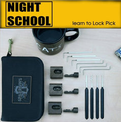 Sparrows Night-School Learn Set de crochetage + étui - UKBumpKeys
