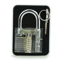 Practice Padlock in case, ideal for lock picking