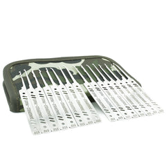Dangerfield PRAXIS Dual-Gauge 21 Piece Complete Lock Pick Set - UKBumpKeys