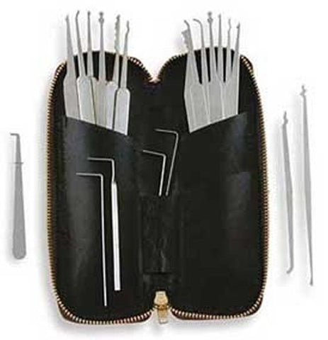SouthOnd 20 Piece Lock Pick Set MPXS-20 - UKBumpKeys