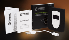 Trezor Bitcoin Hardware Wallet - Secure Crypto Wallet for Digital Currencies (Authorised Reseller) - UKBumpKeys