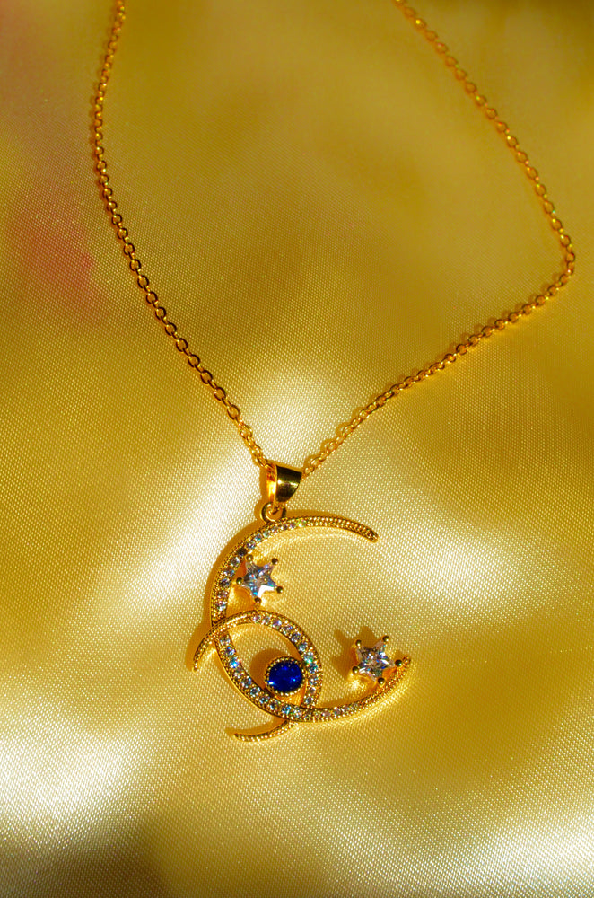GALAXY NECKLACE- GOLD FILLED