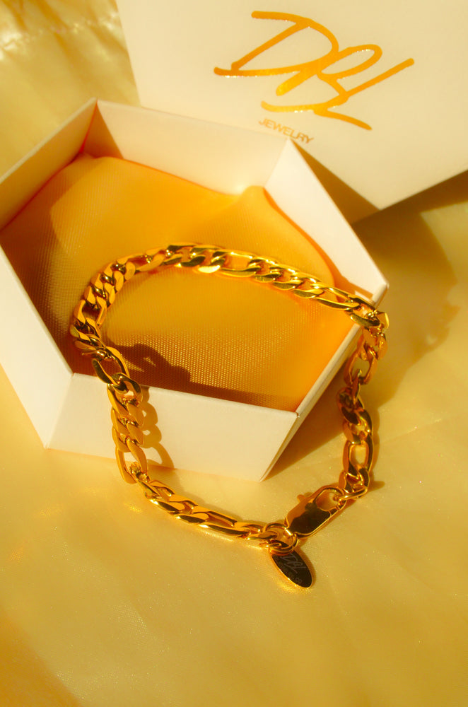 Load image into Gallery viewer, CUBAN LINK ANKLET- GOLD FILLED