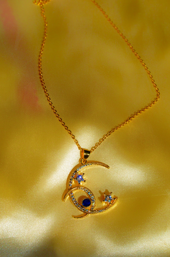 Load image into Gallery viewer, GALAXY NECKLACE- GOLD FILLED