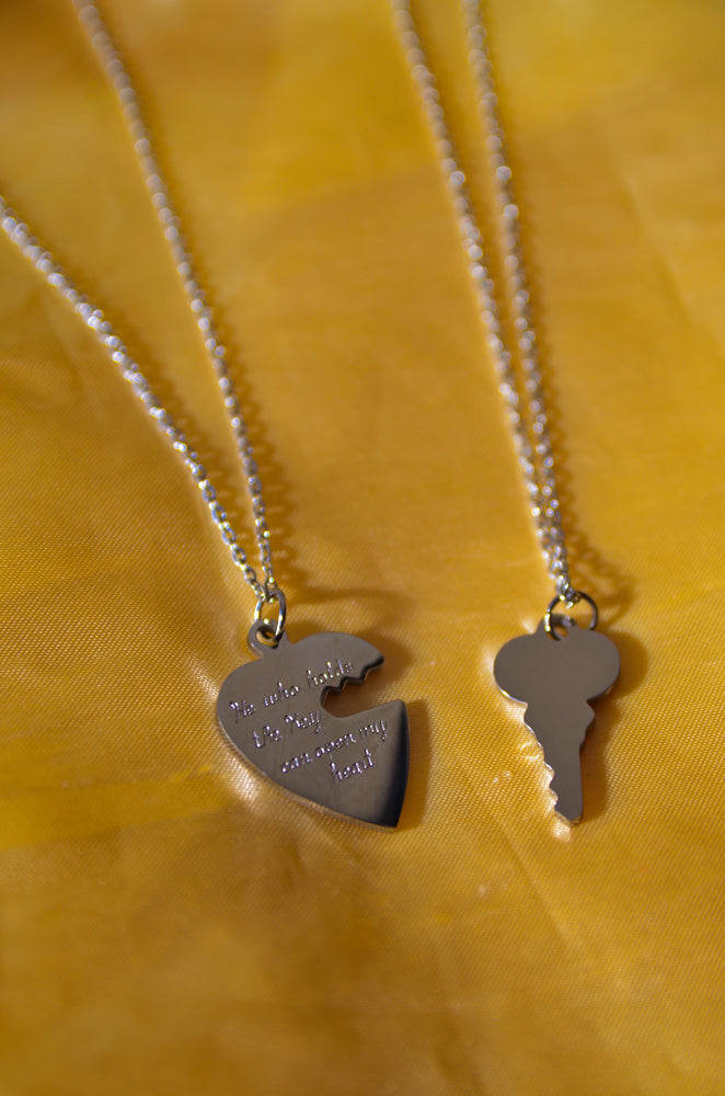 SOULMATE COUPLE'S SET- STERLING SILVER