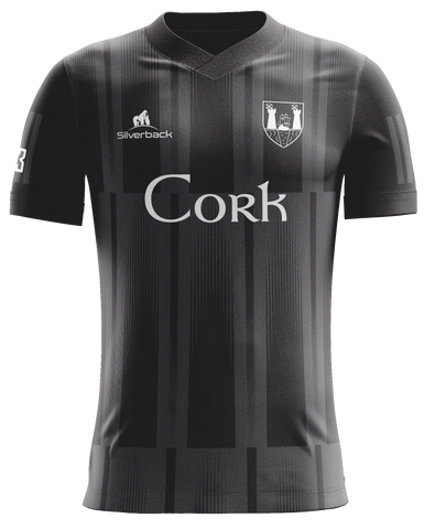 Cork Black Football Jersey
