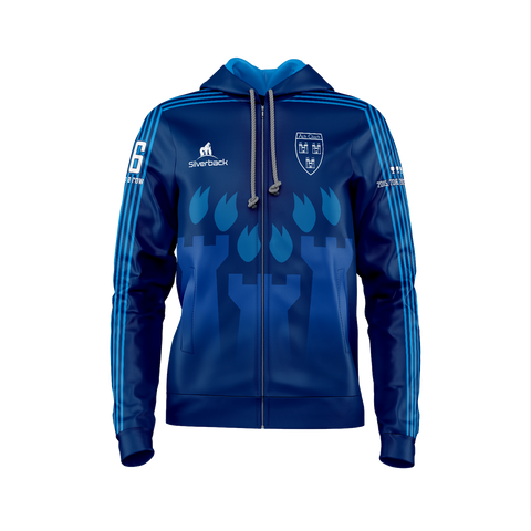 Dublin 6 in a Row Dark Blue Football Hoodie