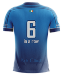 Dublin 6 in a Row Light Blue Football Jersey