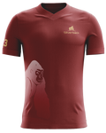 Pre Order: Silverback Gym Wear - Liffey Maroon Training Jersey