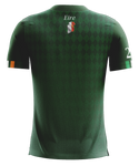Ireland Green Diamond Football Jersey