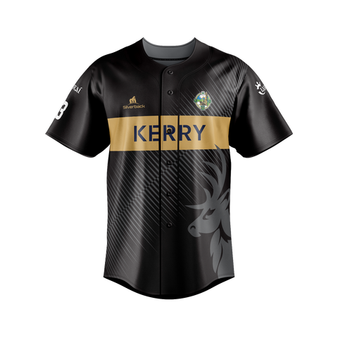 Kerry - O'Keeffe Football Silverback Clothing Range - Baseball Top