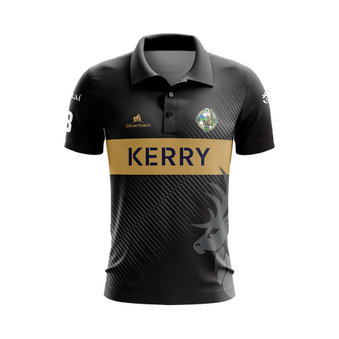 Kerry - O'Keeffe Football Silverback Clothing Range - Polo Shirt
