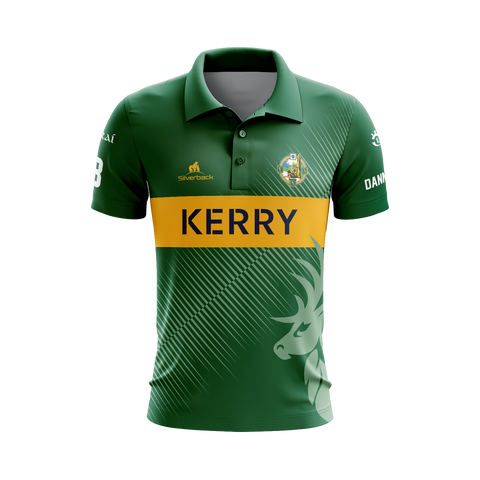 Kerry - O'Keeffe Football Silverback Clothing Range - Polo Shirt (Danno O'Keeffe)