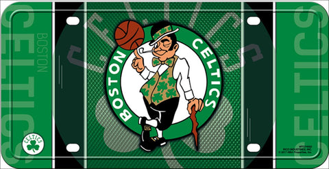 Boston Celtics Metal Novelty License Plate Tag