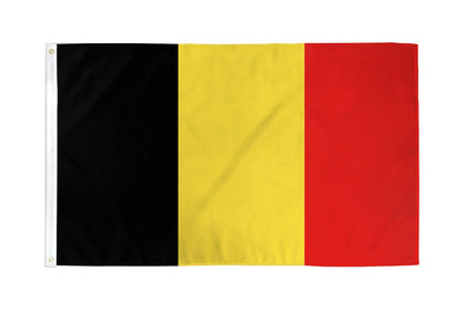 Belgium Polyester Flags