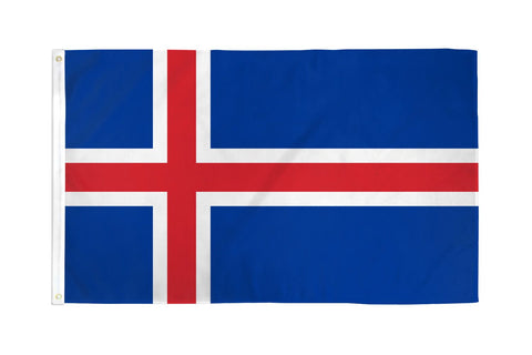 Iceland Polyester Flags
